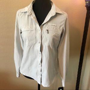 Columbia Titanium Long Sleeved hiking shirt, XS!